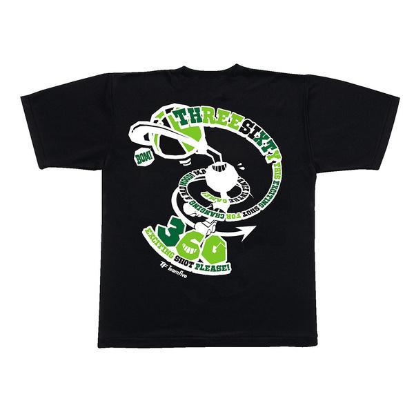 (セール)TEAMFIVE(チームファイブ)バスケットボール メンズ 半袖Tシャツ TEAMFIVE Tシャツ AT-51「360!」 AT-5107 ブラック