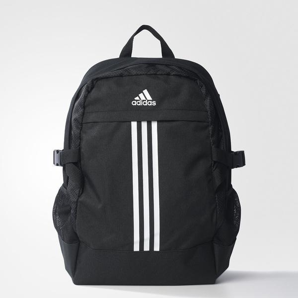 (セール)adidas(アディダス)スポーツアクセサリー バッグパック バックパックPOWER? BQN49 AX6936 M ブラック/ホワイト/ホワイト
