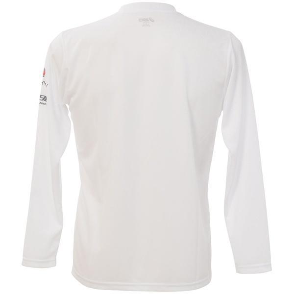 (セール)ASICS(アシックス)バレーボール 長袖Tシャツ プリントTシャツLS XW692N.01A WHT