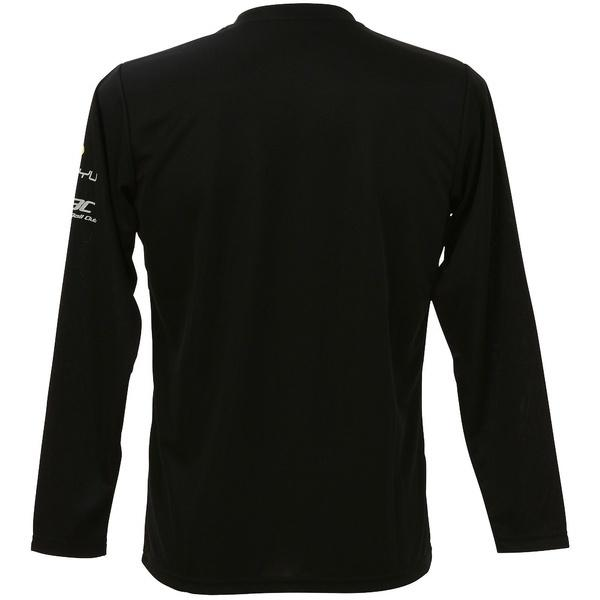 ASICS(アシックス)バレーボール 長袖Tシャツ プリントTシャツLS XW692N.90A BLK