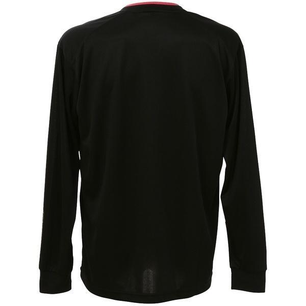 ASICS(アシックス)バレーボール 長袖プラクティスシャツ プラシャツLS XW6626.9017 BLK/PNK