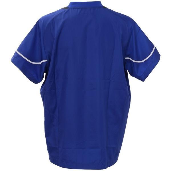 ASICS(アシックス)バレーボール ウェア ウォームアップシャツHS XWW620.45 BLU
