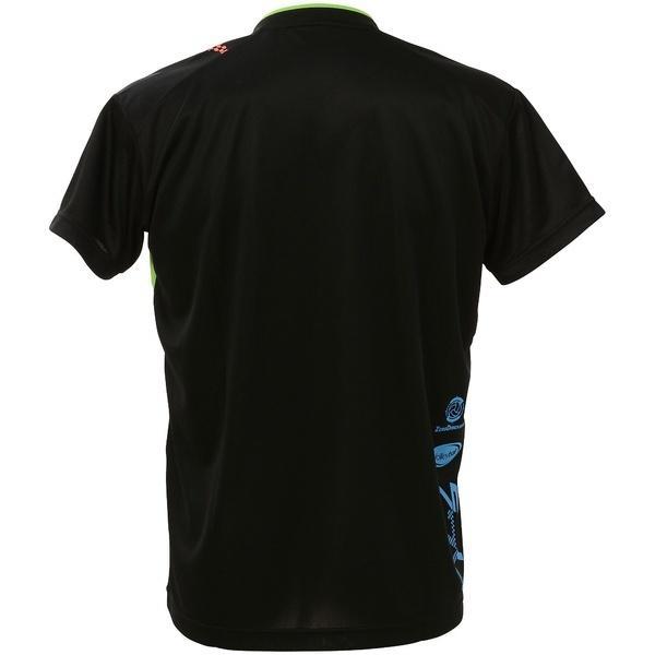 (セール)ASICS(アシックス)バレーボール 半袖プラクティスシャツ プラシャツHS XW6625.9074 BLK/GRN