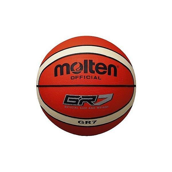 molten(モルテン)バスケットボール 7号ボール GR7 ゴムバスケットボール BGR7-OI メンズ 7号球 オレンジxアイボリー