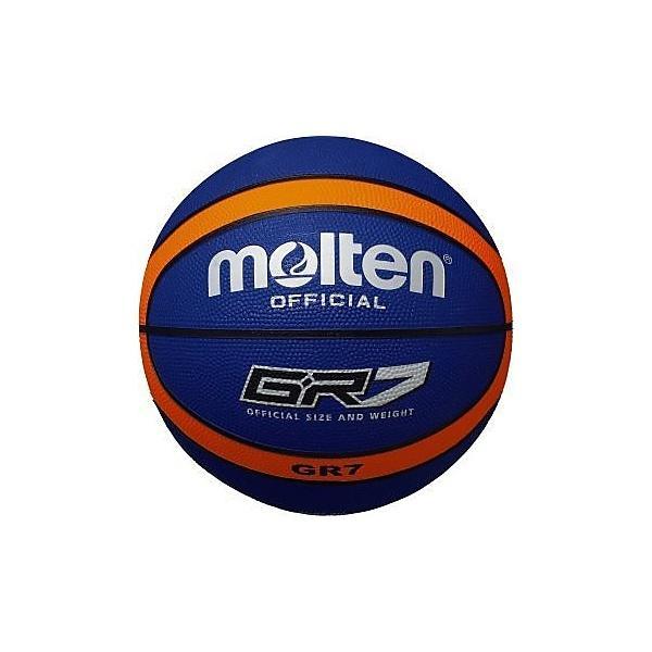 molten(モルテン)バスケットボール 7号ボール GR7 ゴムバスケットボール BGR7-BO メンズ 7号球 ブルーxオレンジ