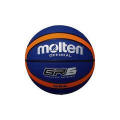 molten(モルテン)バスケットボール 6号ボール GR6 ゴムバスケットボール BGR6-BO レディース 6号球 ブルーxオレンジ