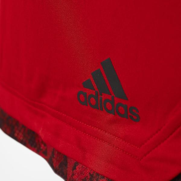 (セール)adidas(アディダス)バスケットボール メンズ プラクティスショーツ BUKATSU365 スピードショートパンツ BQA14 AX7899 メンズ パワーレッド/ブラック