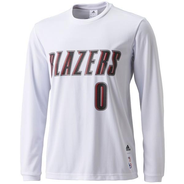 (セール)adidas(アディダス)バスケットボール メンズ 長袖Tシャツ NBAプレーヤー長袖Tシャツ BVU09 AZ9376 メンズ ホワイト