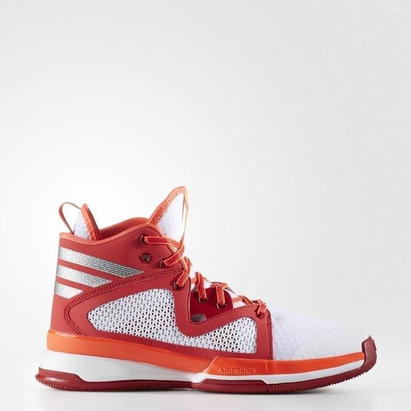 (セール)(送料無料)adidas(アディダス)バスケットボール シューズ ADIZERO PG GIU80 B49681 メンズ ランニングホワイト/シルバーメット/レイレッド F16