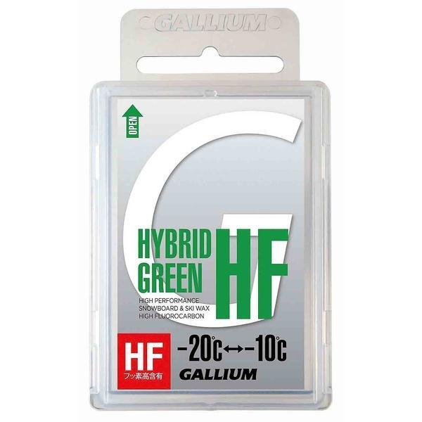 GULLIUM(ガリウム)ウインター ワックス チューンナップ用品 HYBRID HF GREEN(50G) SW2150