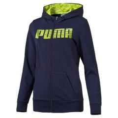 PUMA(プーマ)レディーススポーツウェア スウェット フーデッドスウェットジャケット 59047206 レディース ピーコート