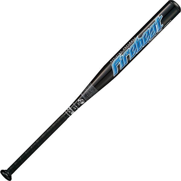 (送料無料)ZETT(ゼット)ソフトボールバット ソフト3ゴウアルミバット FIREBEAT BAT53653 ブラック
