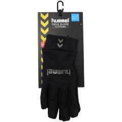 (セール)hummel(ヒュンメル)サッカー アパレルアクセサリー フィールドグローブ HFA3039_90 ブラック