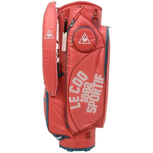 (送料無料)le coq(ルコック)ゴルフ レディースキャディバッグ 8・5ガタキャディバッグ QQL1201 レディース F R461
