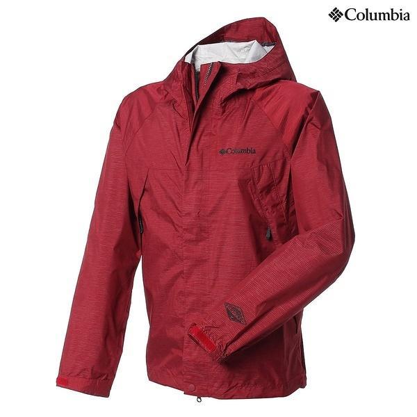 (セール)(送料無料)Columbia(コロンビア)トレッキング アウトドア 薄手ジャケット ワバッシュジャケット PM5990-678 メンズ RED VELVET