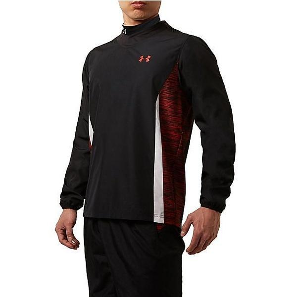 (セール)UNDER ARMOUR(アンダーアーマー)その他競技 体育器具 ラグビー UAラグビーストームウーブンシャツ #MRG3437 メンズ BLK
