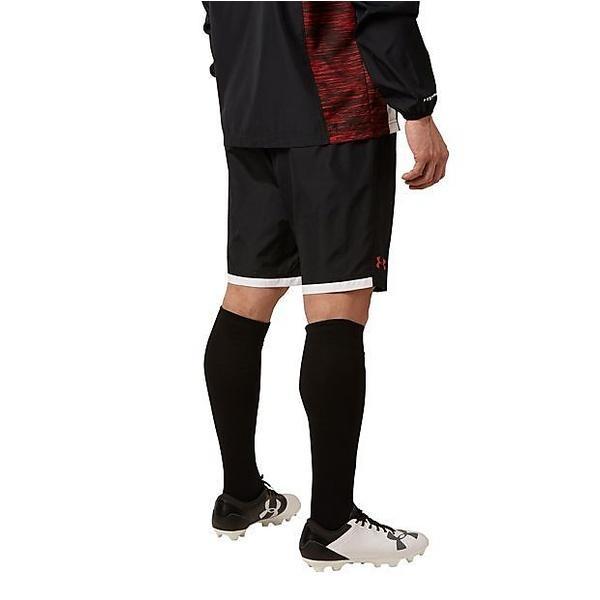 (セール)UNDER ARMOUR(アンダーアーマー)その他競技 体育器具 ラグビー UAラグビーストームウーブンショートパンツ #MRG3436 メンズ BLK