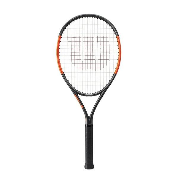 (送料無料)WILSON(ウィルソン)テニス ジュニア 張り上げラケット BURN 26 S WRT534100 ジュニア 1 GUN METAL/POWER ORANGE?