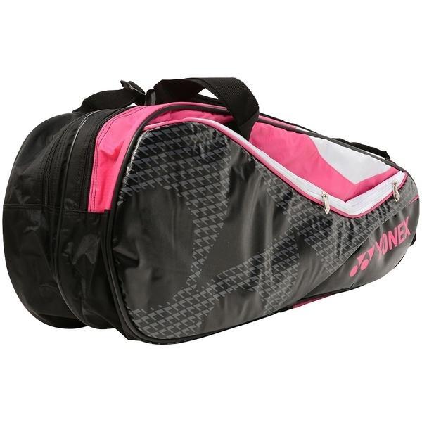 (送料無料)YONEX(ヨネックス)ラケットスポーツ バッグ ケース類 ラケットバッグ6(リュックツキ) BAG1722R ブラック/ピンク