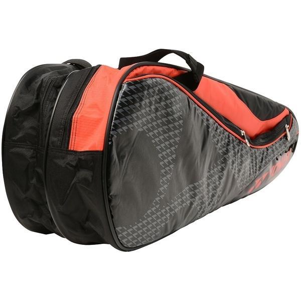 (送料無料)YONEX(ヨネックス)ラケットスポーツ バッグ ケース類 ラケットバッグ6(リュックツキ) BAG1722R ブラック/レッド