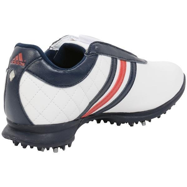 (セール)(送料無料)adidas(アディダス)ゴルフ レディースゴルフシューズ ドライバー ボア WI952-Q44805 レディース ホワイト/ナイトインディゴ/パワーレッド