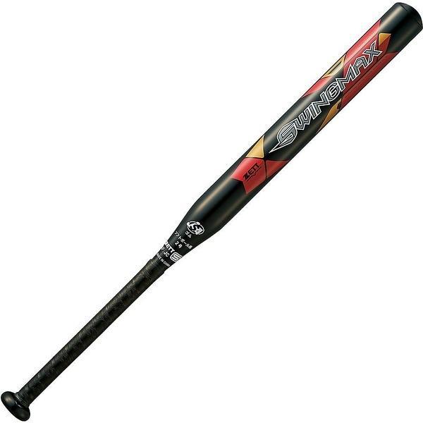 (送料無料)ZETT(ゼット)野球 少年ソフトボールバッド ソフト2ゴウアルミバット SWINGMAX BAT52725-1900 ブラック