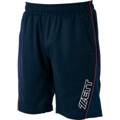 (セール)ZETT(ゼット)野球 ウインドジャケット/コート ハーフパンツ                 * BP813-2900M M ネイビー