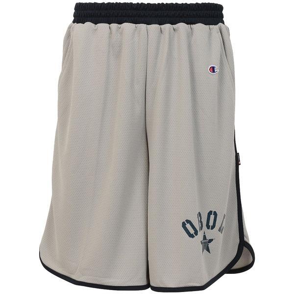 (セール)Champion(チャンピオン)バスケットボール メンズ プラクティスショーツ PRACTICE PANTS C3-JB505 メンズ シルバーグレー