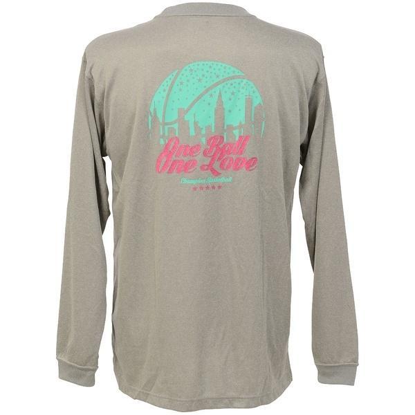 (セール)Champion(チャンピオン)バスケットボール レディース 長袖Tシャツ WOMENS LONG SLEEVE TEE CW-JB400 レディース オックスフォードグレー