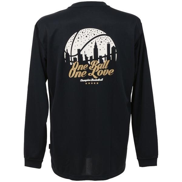 (セール)Champion(チャンピオン)バスケットボール レディース 長袖Tシャツ WOMENS LONG SLEEVE TEE CW-JB400 レディース ネイビー