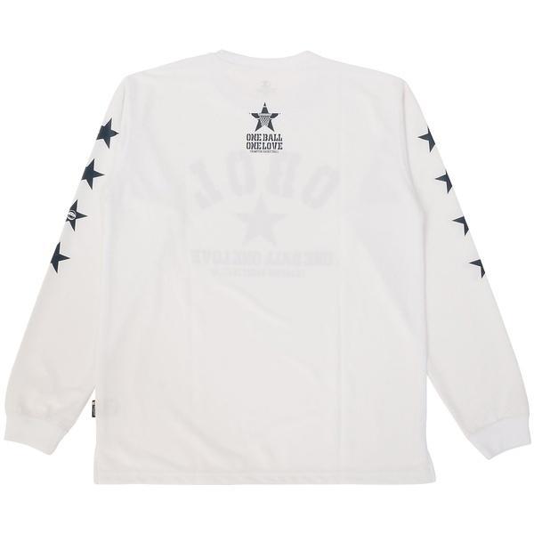 (セール)Champion(チャンピオン)バスケットボール ジュニア 長袖Tシャツ MINI LONG SLEEVE TEE CK-JB404 ボーイズ ホワイト