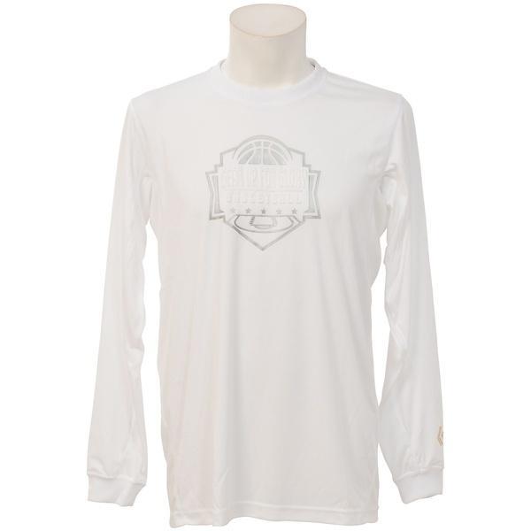 (セール)CONVERSE(コンバース)バスケットボール メンズ 半袖Tシャツ ゴールドシリーズプリントTシャツ CBG262304L-1100 メンズ WHT