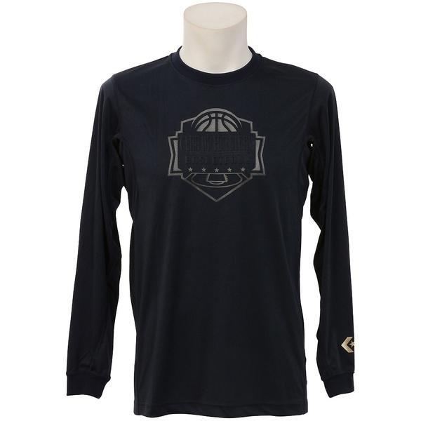 (セール)CONVERSE(コンバース)バスケットボール メンズ 半袖Tシャツ ゴールドシリーズプリントTシャツ CBG262304L-2900 メンズ NVY