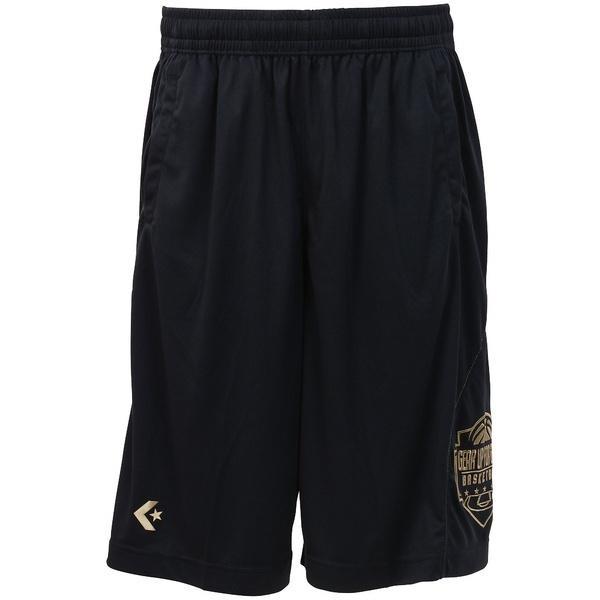 (セール)CONVERSE(コンバース)バスケットボール メンズ プラクティスショーツ ゴールドシリーズプラクティスパンツ(ポケット付) CBG262804-2900 メンズ NVY