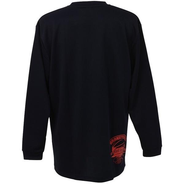 (セール)CONVERSE(コンバース)バスケットボール メンズ 長袖Tシャツ プリントロングスリーブシャツ CB262314L-2900 メンズ NVY