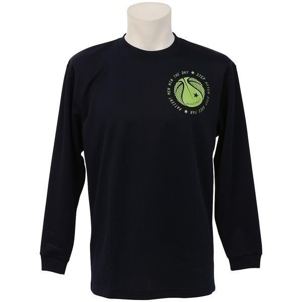(セール)CONVERSE(コンバース)バスケットボール メンズ 長袖Tシャツ プリントロングスリーブシャツ CB262315L-2900 メンズ NVY