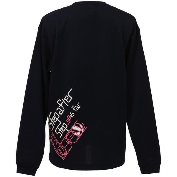(セール)CONVERSE(コンバース)バスケットボール レディース 長袖Tシャツ ウィメンズプリントロングスリーブシャツ CB362305L-2900 レディース NVY