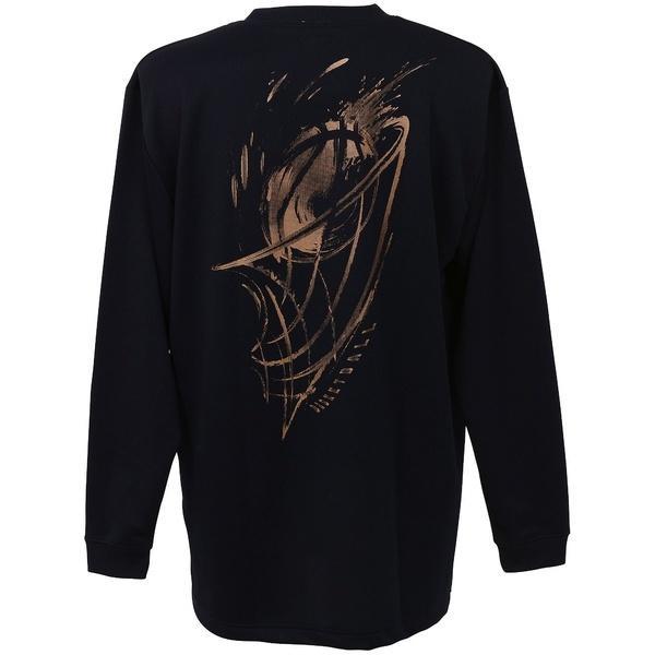 (セール)CONVERSE(コンバース)バスケットボール メンズ 長袖Tシャツ プリントロングスリーブシャツ CBC262318L-2900 メンズ NVY