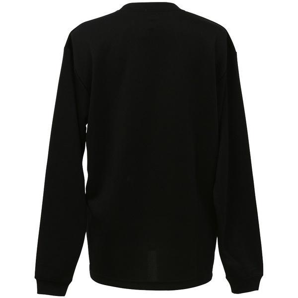 (セール)CONVERSE(コンバース)バスケットボール レディース 長袖Tシャツ ウィメンズプリントロングスリーブシャツ CBC362307L-1900 レディース BLK
