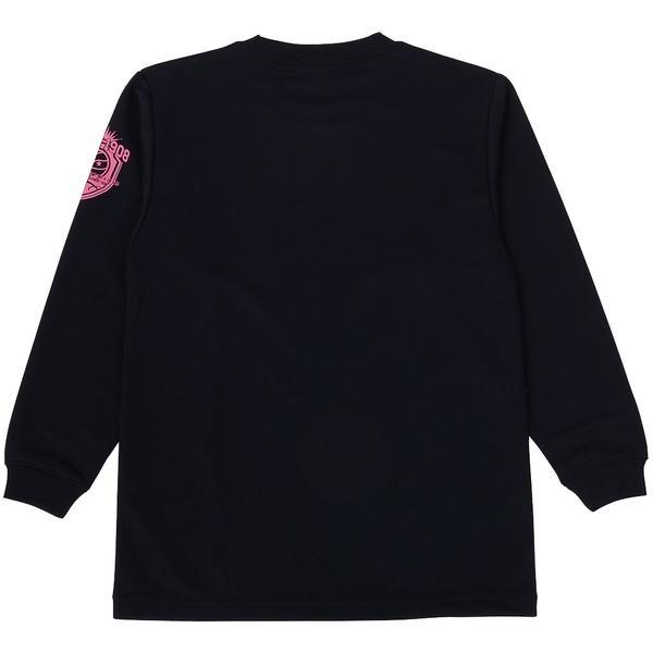 (セール)CONVERSE(コンバース)バスケットボール ジュニア 長袖Tシャツ JRプリントロングスリーブシャツ CBC462305L-2962 ジュニア NVY X MGT