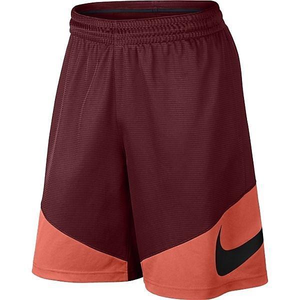 (セール)NIKE(ナイキ)バスケットボール メンズ プラクティスショーツ ナイキ HBR ショート 718830-677 メンズ チームレッド/ターフオレンジ/ターフオレンジ/(ブラック)