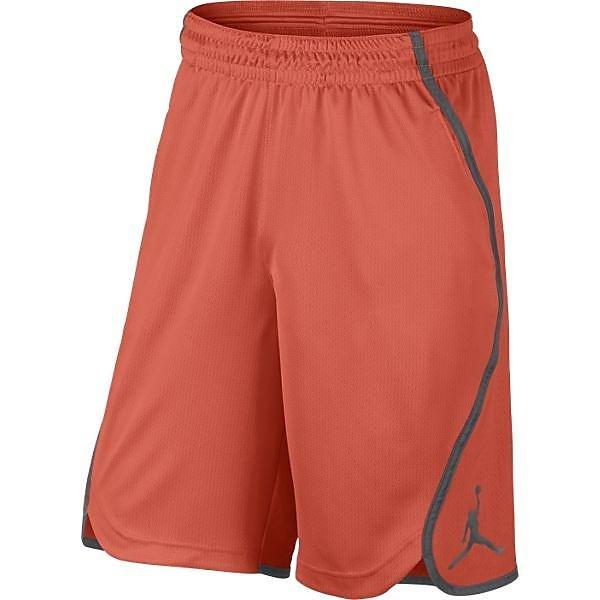 (セール)NIKE(ナイキ)バスケットボール メンズ プラクティスショーツ ジョーダン フライト ビクトリー ショート 800916-842 メンズ ターフオレンジ/ダークグレー/ターフオレンジ/(ダークグレー)