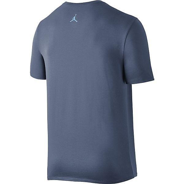 (セール)NIKE(ナイキ)バスケットボール メンズ 半袖Tシャツ ジョーダン ジャンプマン DRI-FIT Tシャツ 801051-404 メンズ オーシャンフォグ/(ブルーキャップ)