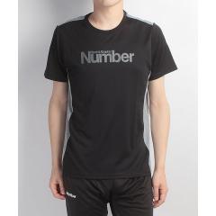 (セール)Number(ナンバー)ラケットスポーツ アパレル 半袖TEE LOGO NB-S17-201-004 メンズ ブラック