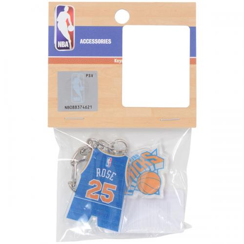 adidas(アディダス)バスケットボール アクセサリー アクリル2連チャームKN#25 NBA31112 RED