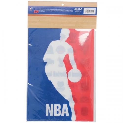adidas(アディダス)バスケットボール アクセサリー クリアファイル(2枚セット) NBA31122 WHT