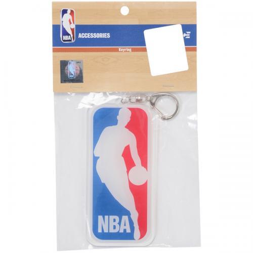 adidas(アディダス)バスケットボール アクセサリー アクリルBIGキーリング ロゴマン NBA29570 WHT