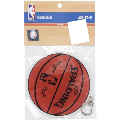 adidas(アディダス)バスケットボール アクセサリー アクリルBIGキーリング ボール NBA29571 BRN