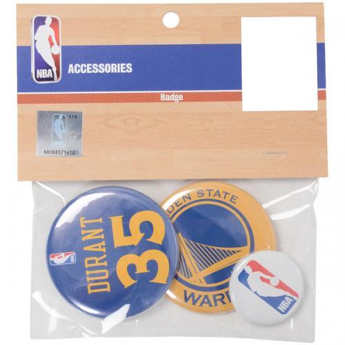 adidas(アディダス)バスケットボール アクセサリー 缶バッチ(3個セット)WA#35 NBA31148 BLU