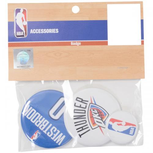 adidas(アディダス)バスケットボール アクセサリー 缶バッチ(3個セット)TH#0 NBA31152 BLU